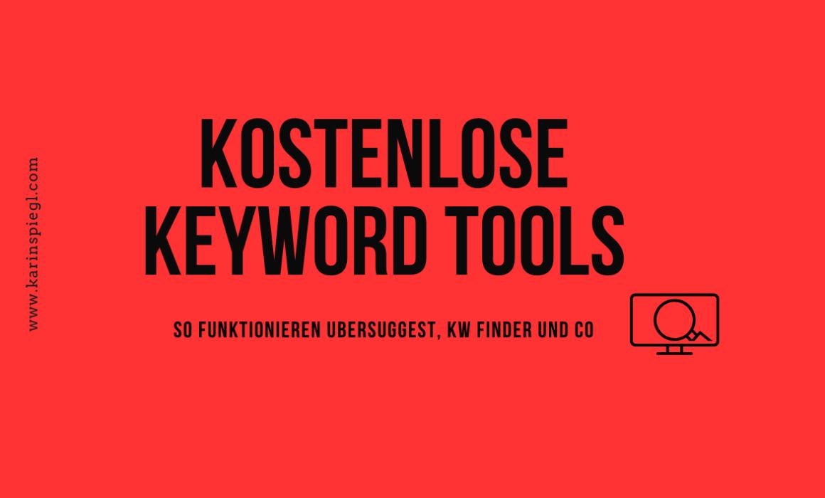 Keyword Tools kostenlos